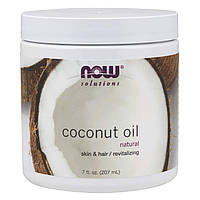 Now Foods 100% Natural Coconut Oil 207 ml