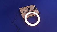 Кольцевая LED лампа светодиодная 20 см без держателя для селфи | Селфи кольцо | Кольцевой Лед свет для фото
