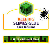 Клей для слаймов Klebrig Crystal, Прозрачный (розовый) 120 мл, фото 2