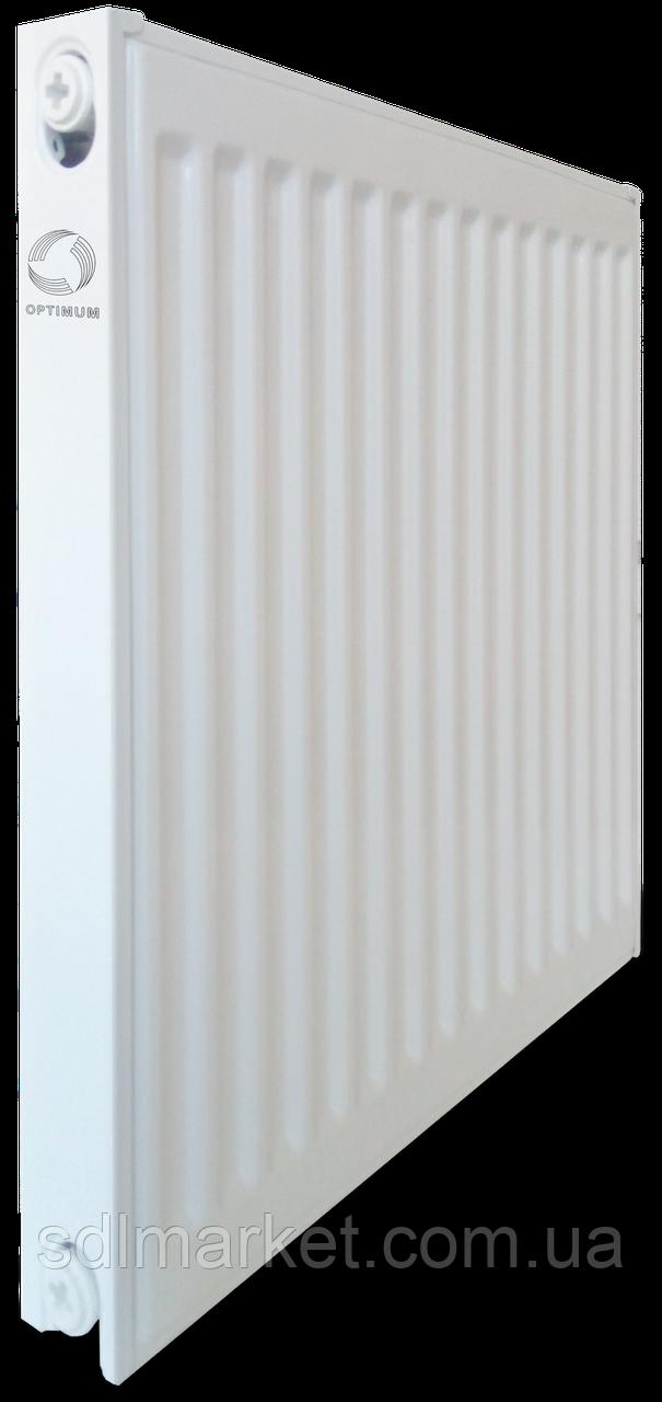 Радіатор сталевий панельний OPTIMUM 11 пліч 500x600