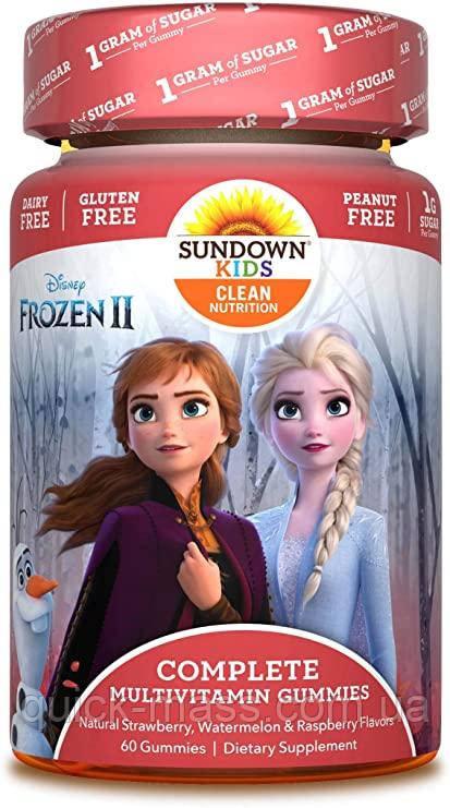 Детские витамины Sundown Naturals Kids Complete Multivitamin Gummies 60 gummies