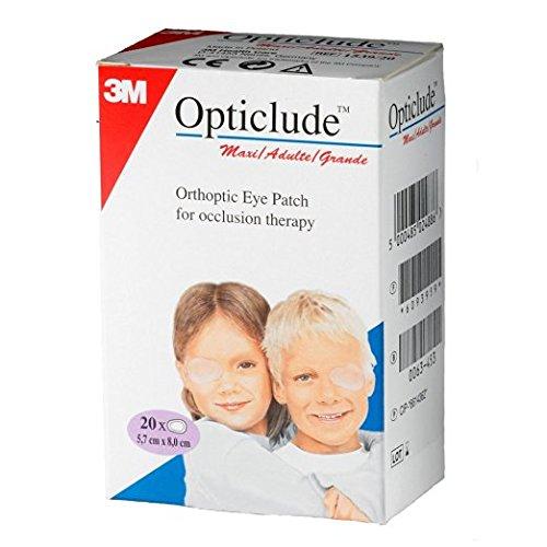 Глазные клеящиеся повязки (Окклюдеры) 3М Opticlude Maxii (5.7х8,0см, Бежевый)