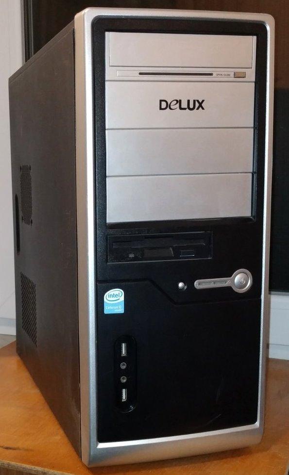 Case#217 Компьютерный корпус Delux
