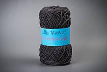 Пряжа хлопковая Vivchari Ethno-Сotton Classic, Color No.011 темно-серый