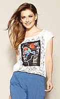 Zaps блуза Bambina молочного цвета, коллекция весна-лето 2021., фото 1