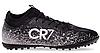 Сороконожки 190713 CR7 р.42 черный-белый-серебряный, фото 6