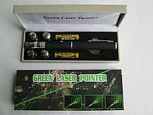 Лазерная указка Green Laser Pointer с 5 насадками