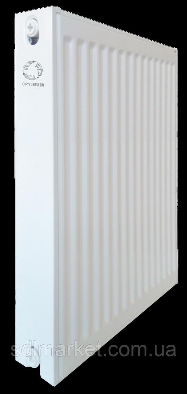 Радіатор сталевий панельний OPTIMUM 22 пліч 600х1900