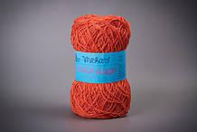Пряжа хлопковая Vivchari Ethno-Сotton Classic, Color No.021 морковный