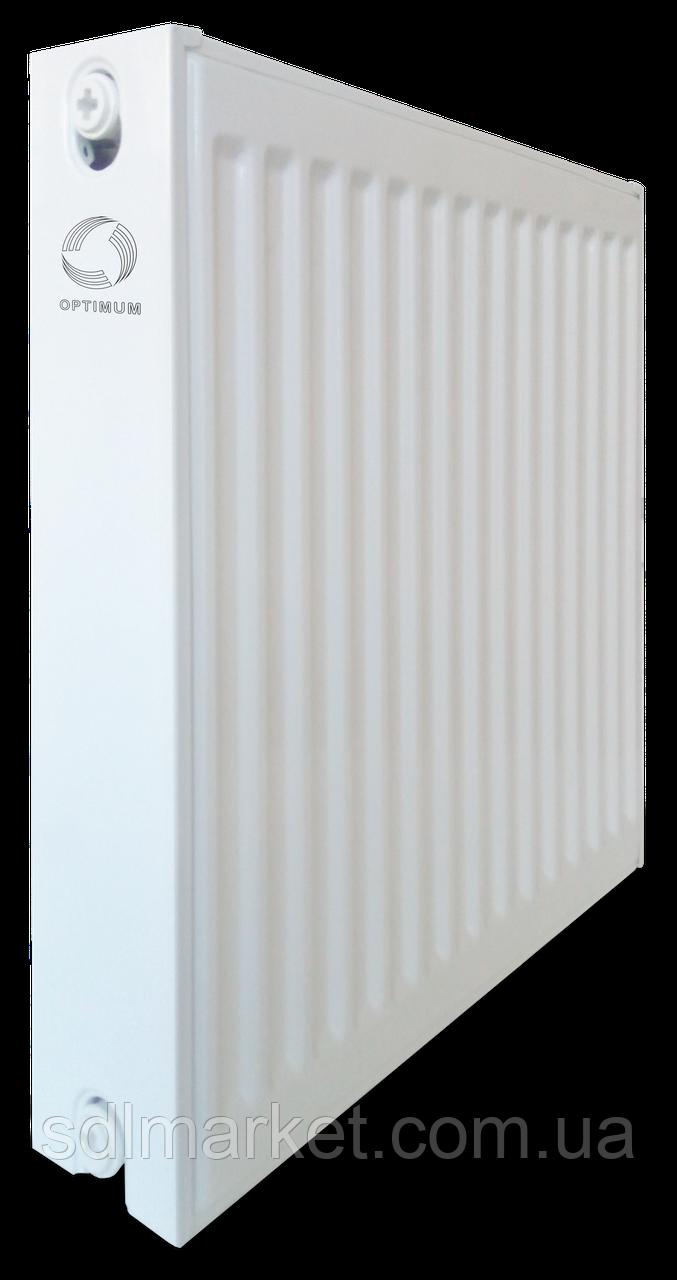 Радіатор сталевий панельний OPTIMUM 22 низ 500x800