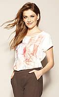 Zaps блуза Banti молочного цвета, коллекция весна-лето 2021., фото 1