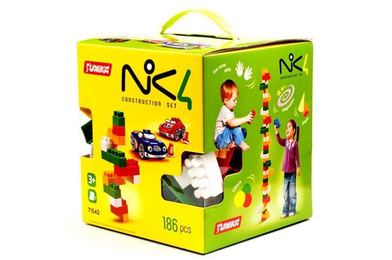 "Пластиковий конструктор ""NIK4"", 186 дет 1542"