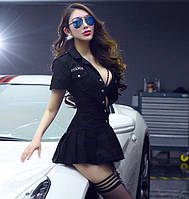 Сексуальный игровой костюм полицейской Dear Lover 0109 Черный S/M/L, фото 1
