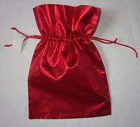 Мешочек для подарков красный 20х21