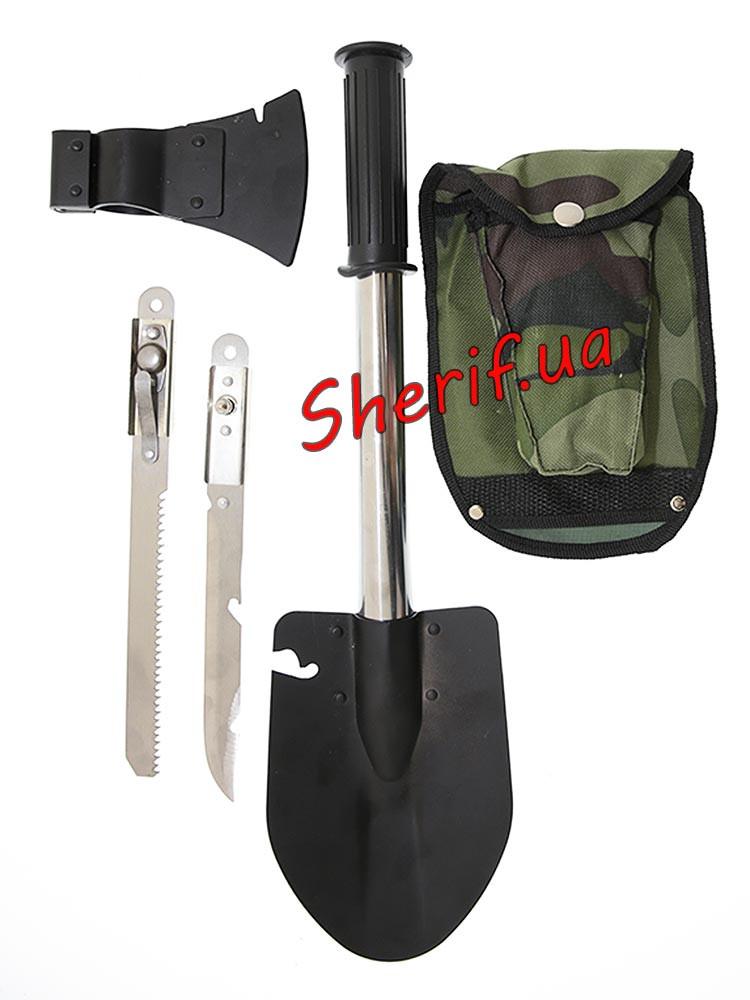 Набір багатофункціональний у чохлі ( лопата, сокира, ніж, пилка) 4736, X-14