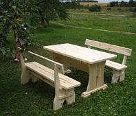 Комплект садовой мебели ручной работы