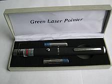 Мощная лазерная указка 100 мВт (зеленая)