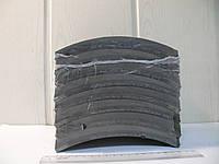 Накладки тормозные КАМАЗ сверленные  комплект с заклепками (пр-во Трибо)