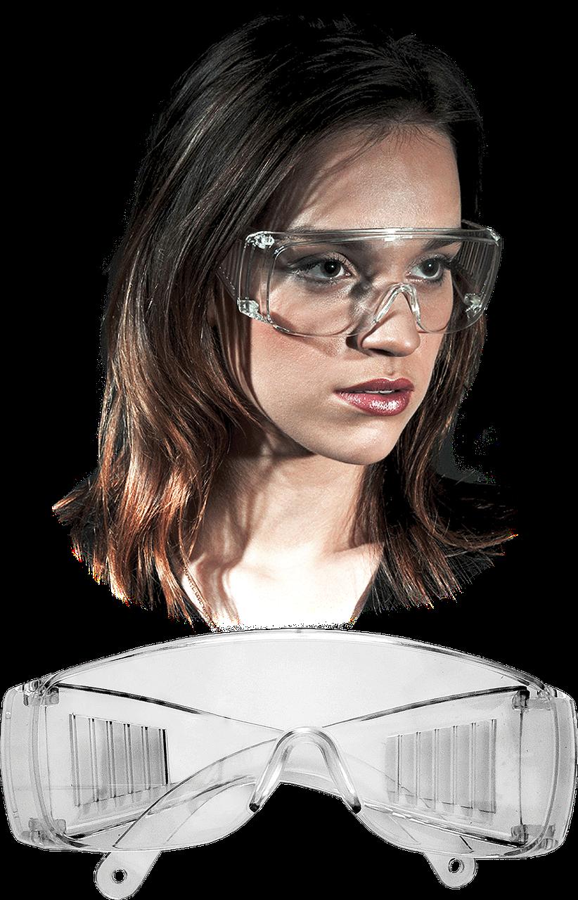 Окуляри захисні GOG-ICE T з широкими дужками Reis Польща