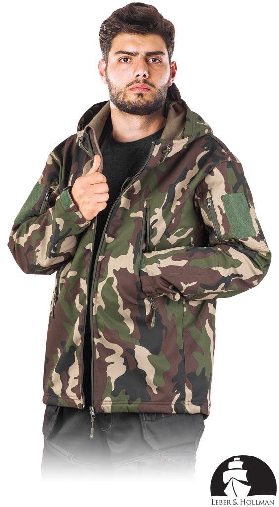 Куртка демисезонная LH-WOODLAND из материала softshell. REIS