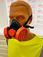 Многоразовый респиратор FFP2 c клапаном, фильтры с угольной пропиткой производитель Польша