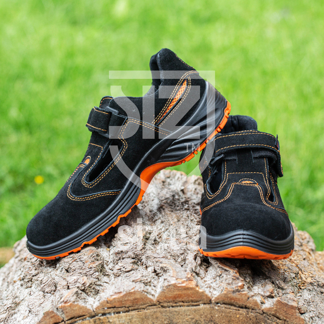 Сандалии  304 SB с металлическим носком. Urgent