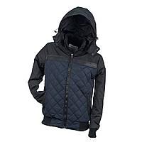 Курточка стьобаний URG-BBJA NAVY з поліестеру, чорно-синього кольору. Urgent (POLAND)