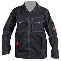 Куртка URG-E ( 260g ) из полиэстера и хлопка, черного цвета.  Urgent