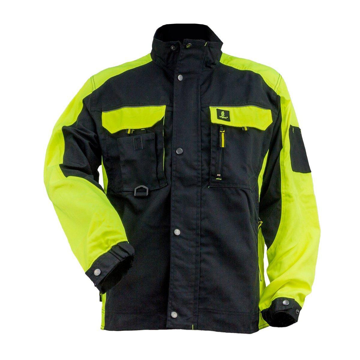Куртка рабочая URG-Y ( 260g ) из полиэстера и хлопка, черно-зеленого цвета.Urgent