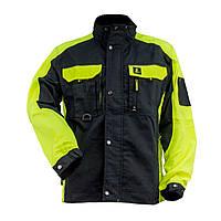 Куртка робоча URG-Y ( 260g ) з поліестеру і бавовни, чорно-зеленого кольору Urgent (POLAND)