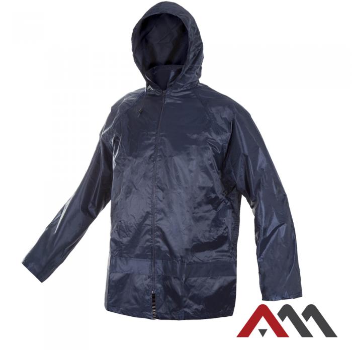 Дождезащитная куртка KTN Blue синего цвета. ARTMAS