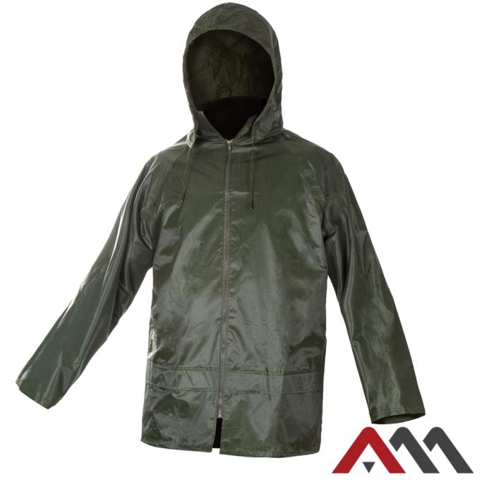 Дождезащитная куртка KTN green зеленого цвета. ARTMAS