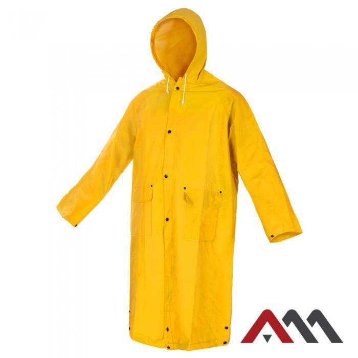 Плащ дождевик  PPD Yellow желтого цвета. ARTMAS