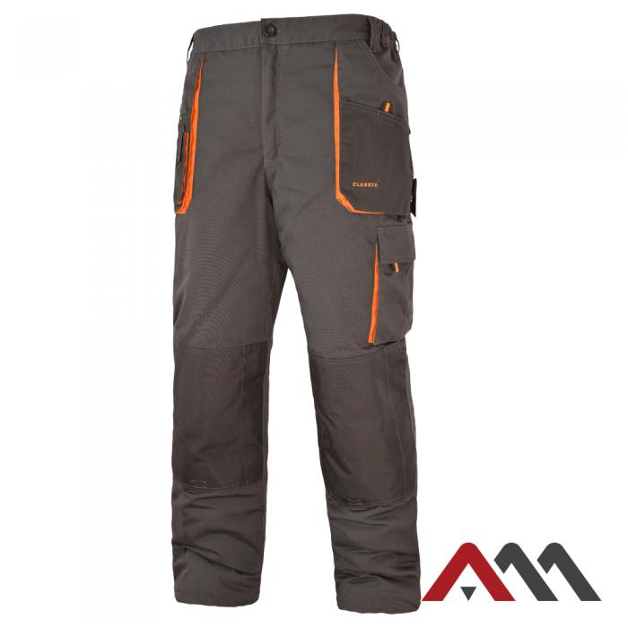 Зимние брюки CLASSIC черного цвета.ARTMAS