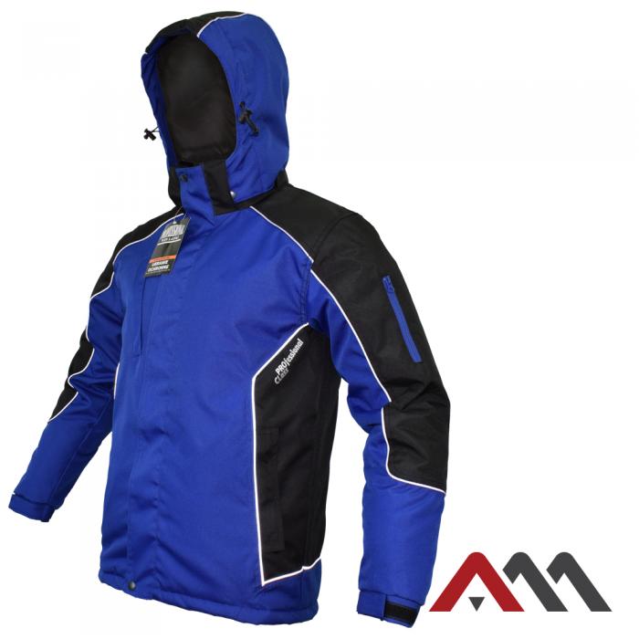 Куртка зимняя PROFESSIONAL WIN LONG BLUE удлиненная.ARTMAS