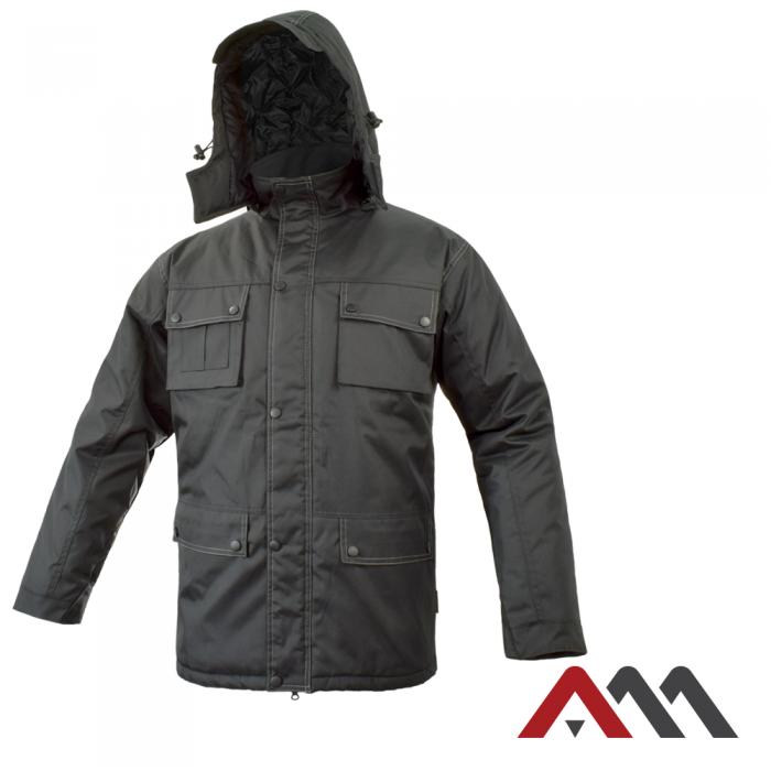 Куртка зимняя MASWORK черного цвета.ARTMAS