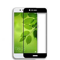 Защитное стекло 2.5D Full Screen на Huawei Nova 2 цвет Черный