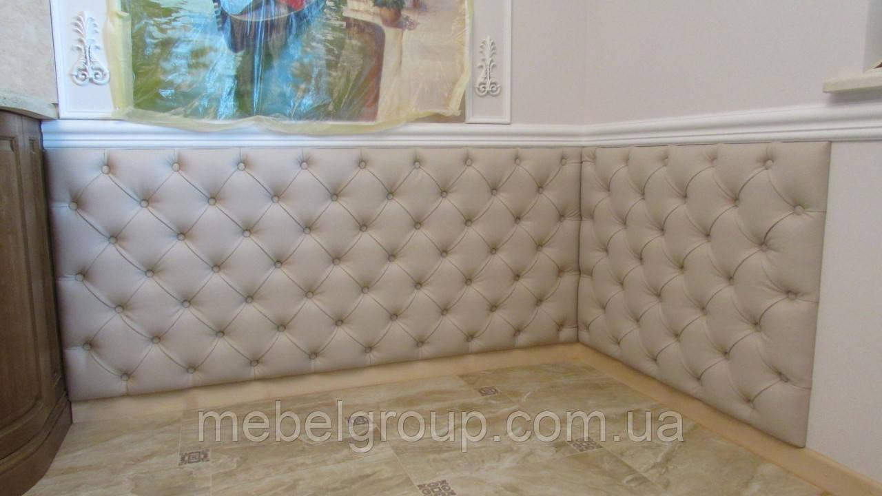 Мягкая стеновая панель каретная стяжка