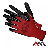 Перчатки REDNIT с нитриловым покрытием