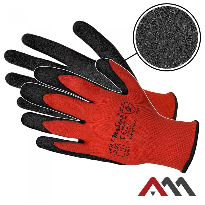 Перчатки  OX-LATEX CB с латексным покрытием