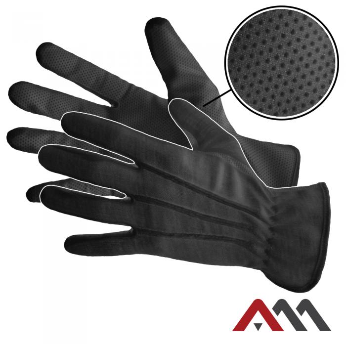 Перчатки официанта RMICROBLACK c точечным напылением