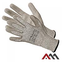 Перчатки  RCUT с полиуретановым покрытием стойкие к порезам.