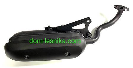 Глушитель для японского скутера Yamaha Jog/Axis/Aprio/Next Zone с двигателем 5 BM, фото 2