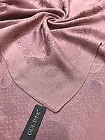 Женский двухсторонний розовый платок с люрексом Турция - купить на Kosinka.net