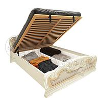 Кровать 1,6х2,0 с подъемным каркасом, Спальня Мартина, радика беж, МИРОМАРК