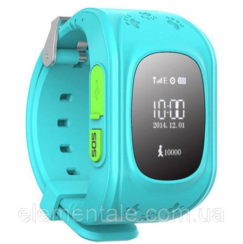 Детские умные GPS часы Q50 blue