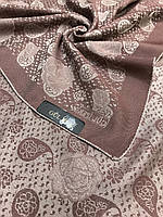 Женский двухсторонний коричневый платок с люрексом Турция - купить на Kosinka.net