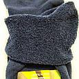 Носки мужские теплые зимние махровые синие спорт 40-44, фото 3