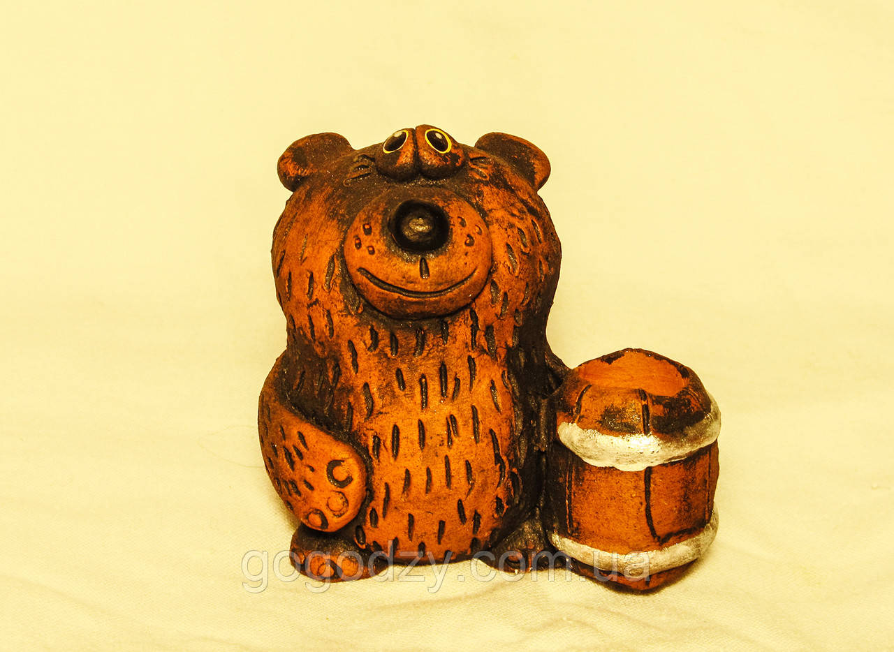 Керамічна фігурка Ведмідь