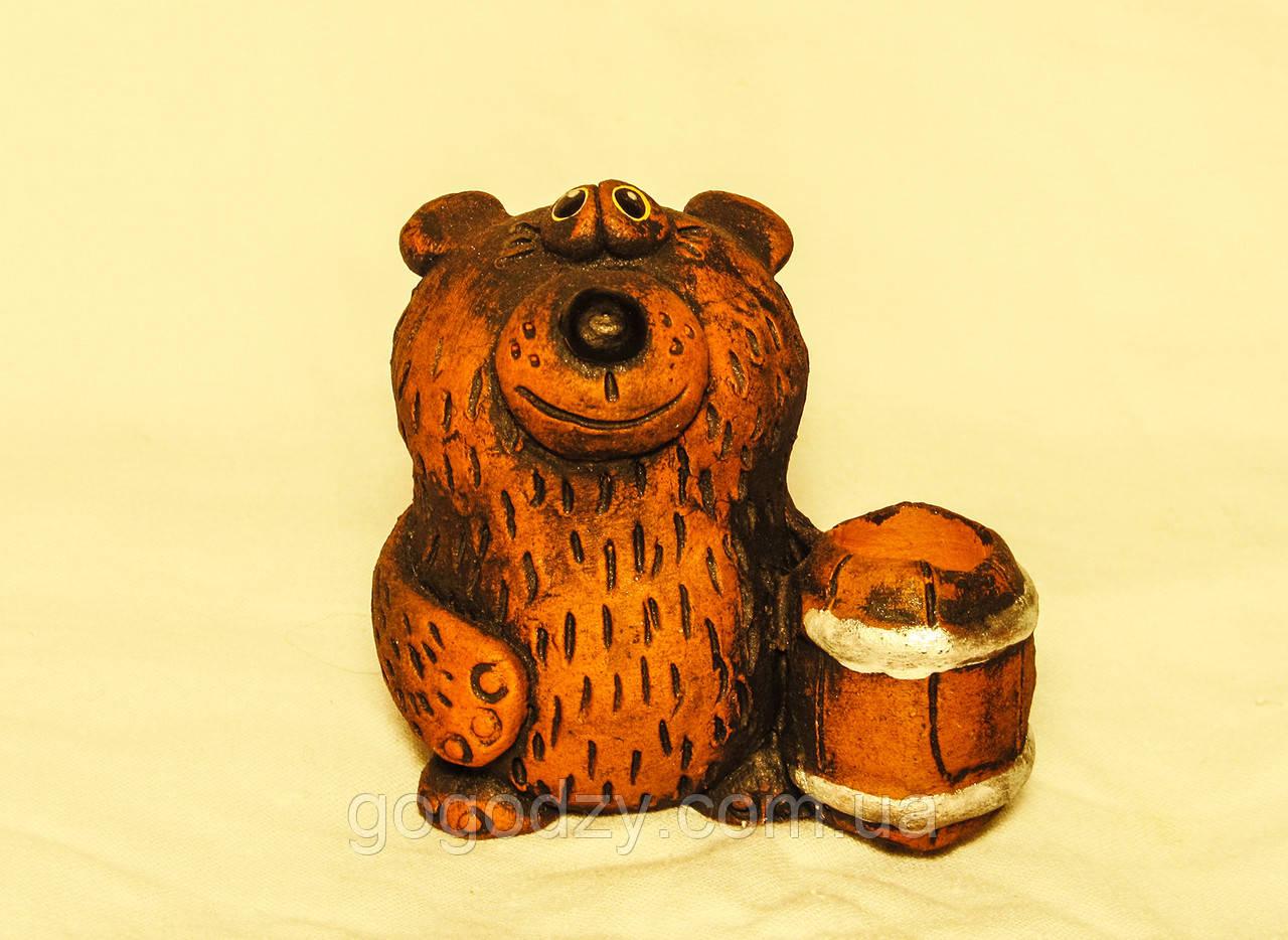 Керамічна фігурка Ведмідь, фото 1